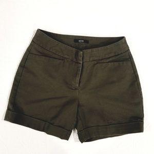 Apt 9 Army Green Shorts.